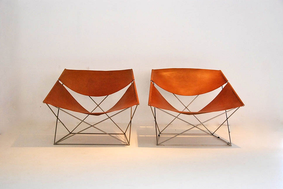 "PAIR OF ""BUTTERFLY"" SEATS"