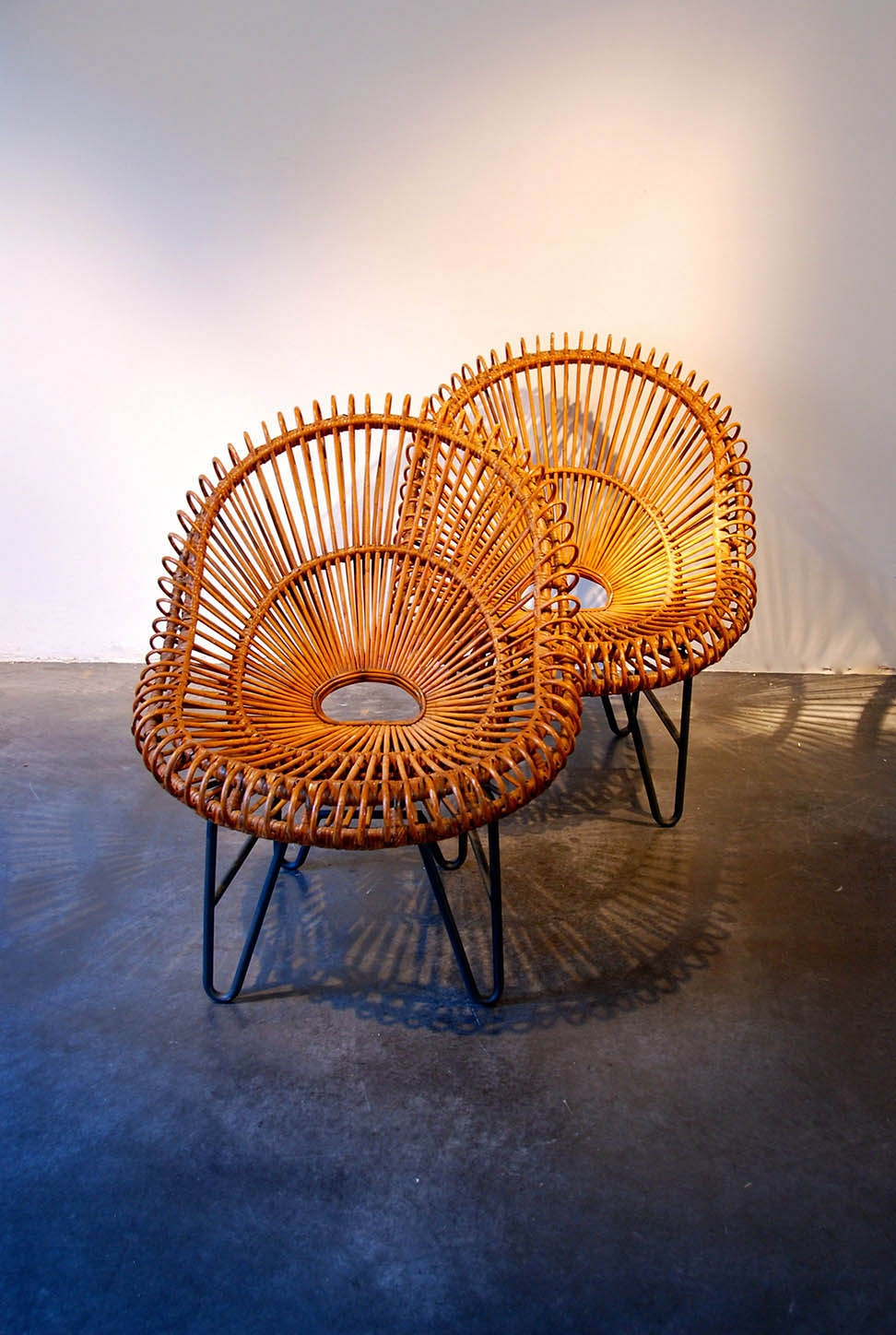 FRANCO ALBINI pair of seats