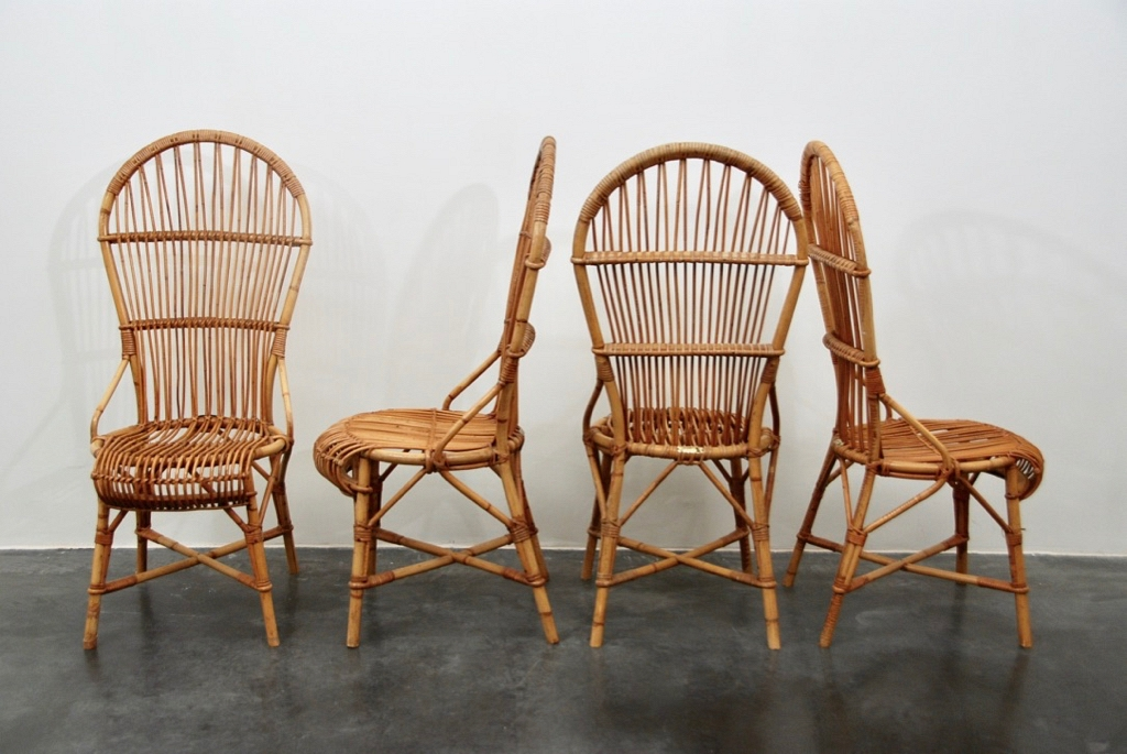 Ratan set of 6 chairs