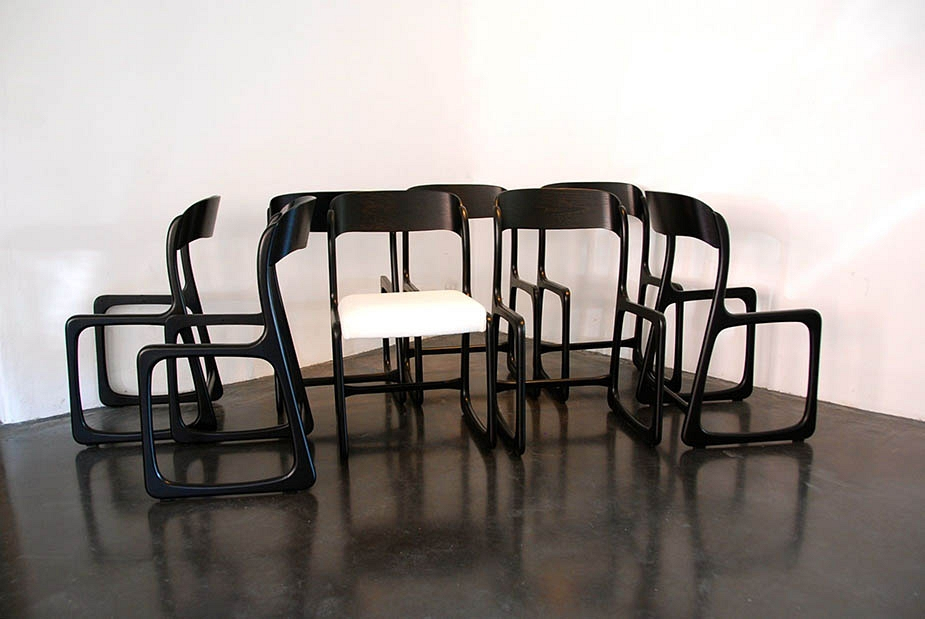 8 chairs by Stella