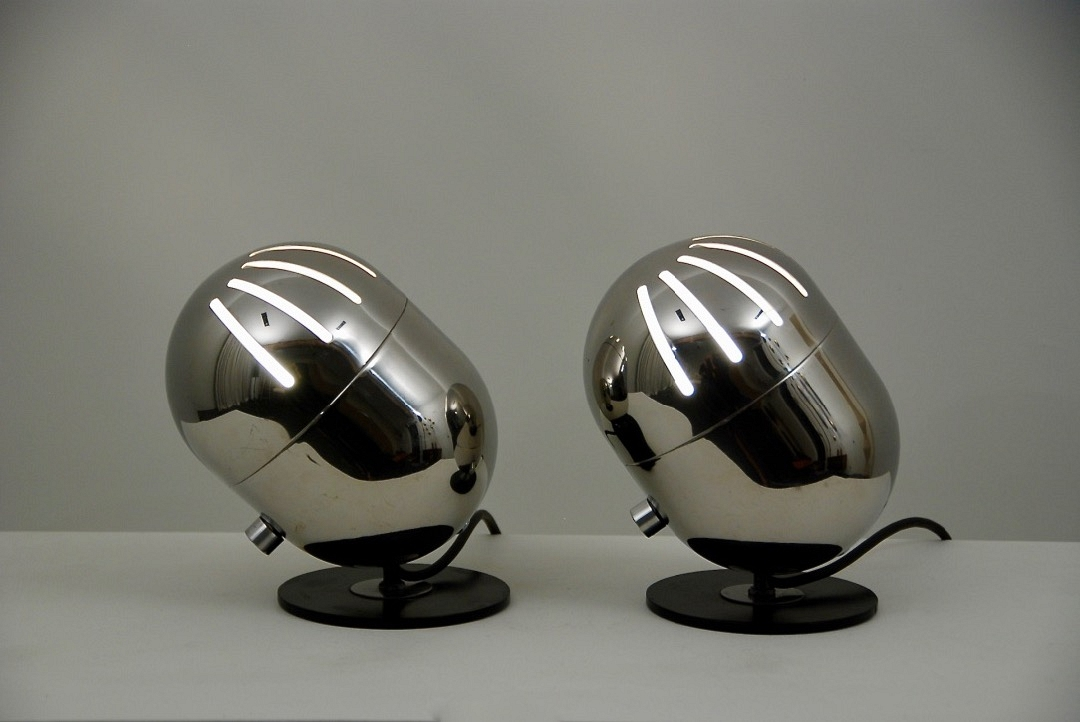 E. Fermigier pair of table lamps