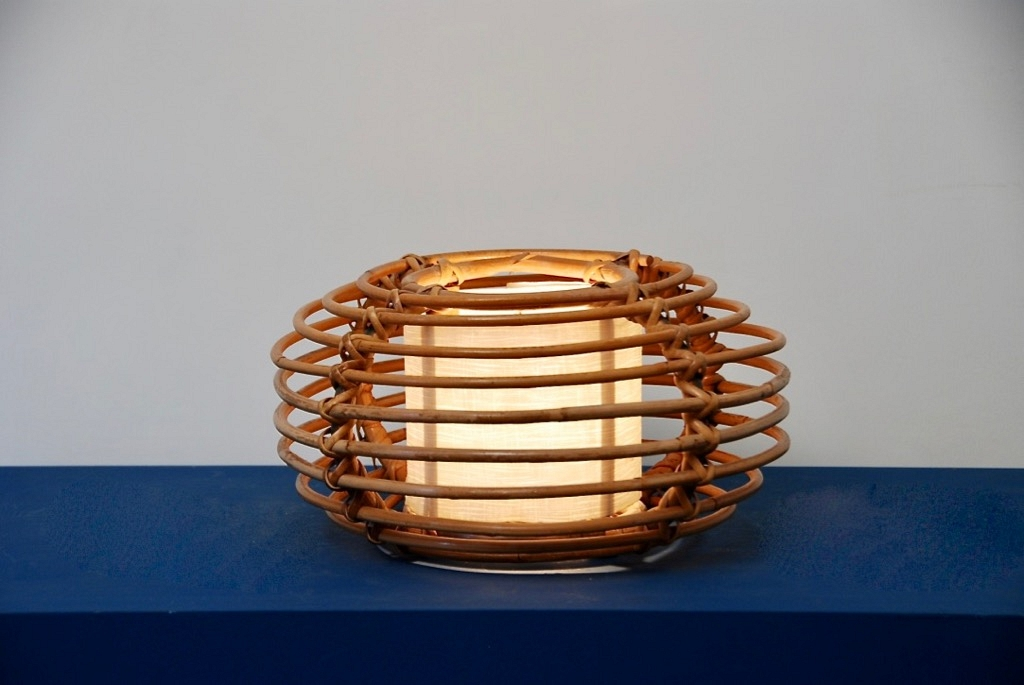 table lamp in rotan (nr2)