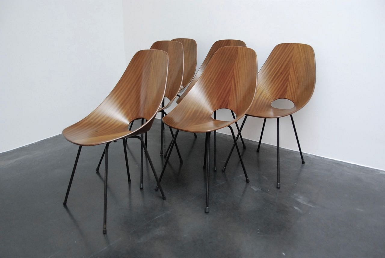Vittorio Nobili Medea sets of 6 chairs