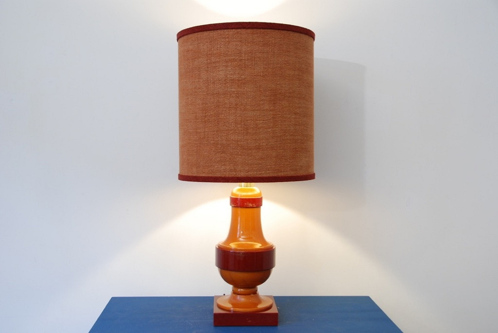 Table lamp deco 70's