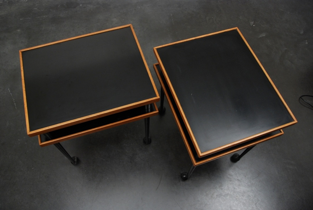 Jules Wabbes side tables