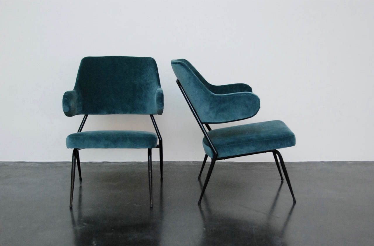 Gastone Rinaldi pair of seats