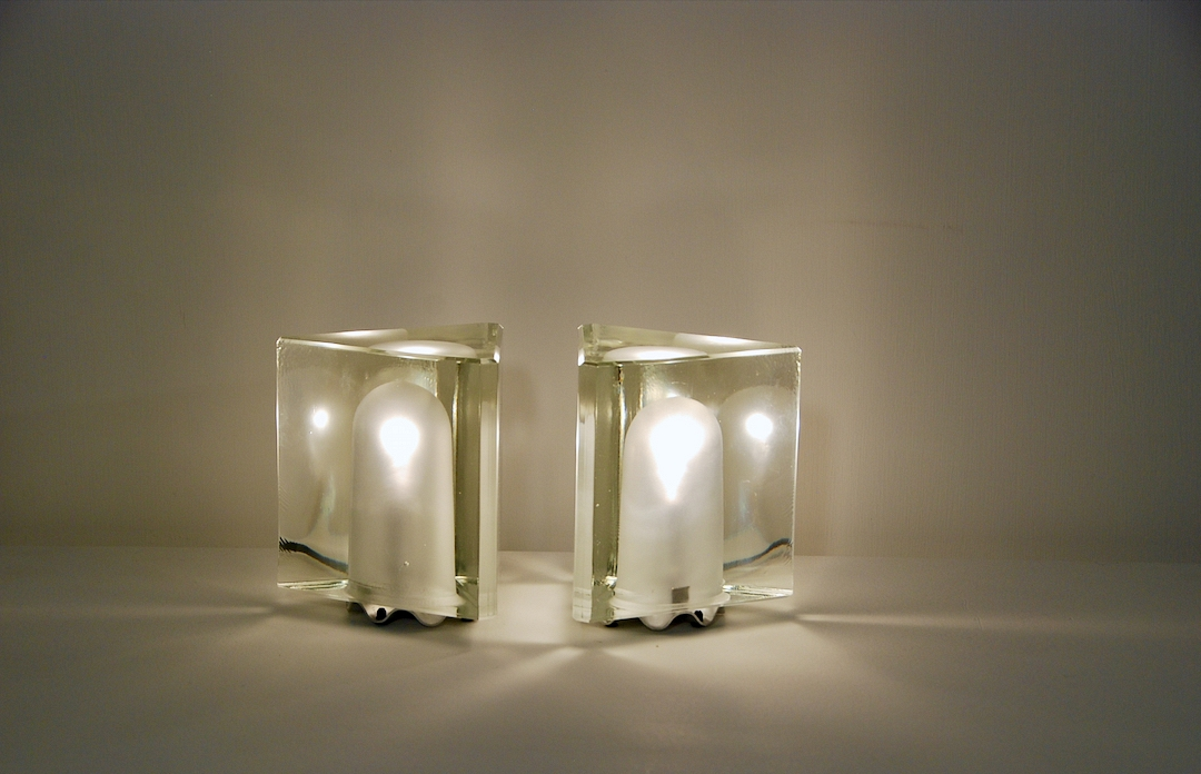pair of poliarte table lamp