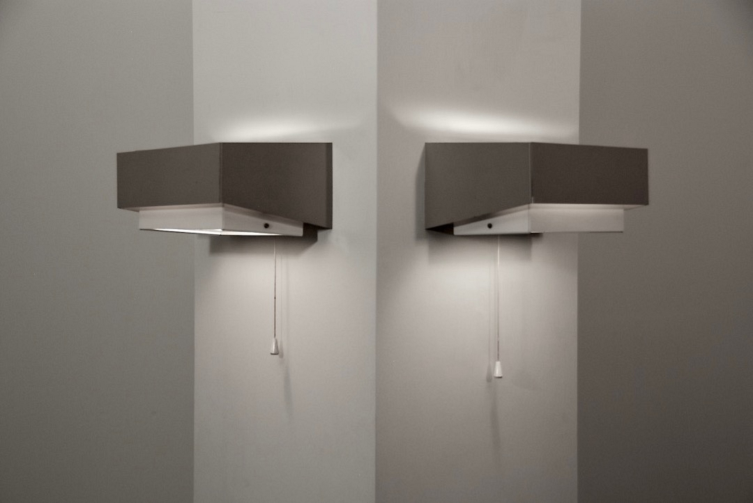 Pair of wall lamps 1