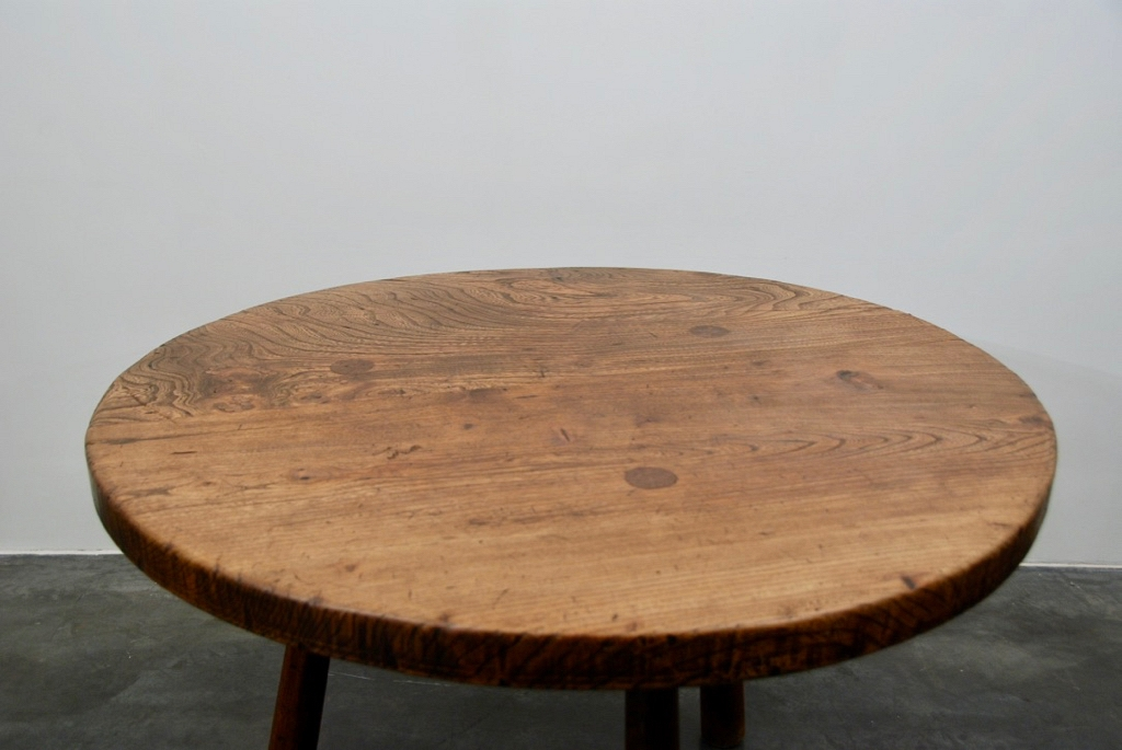 solid Elm wood table