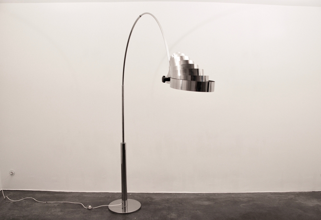 floor lamp chrome
