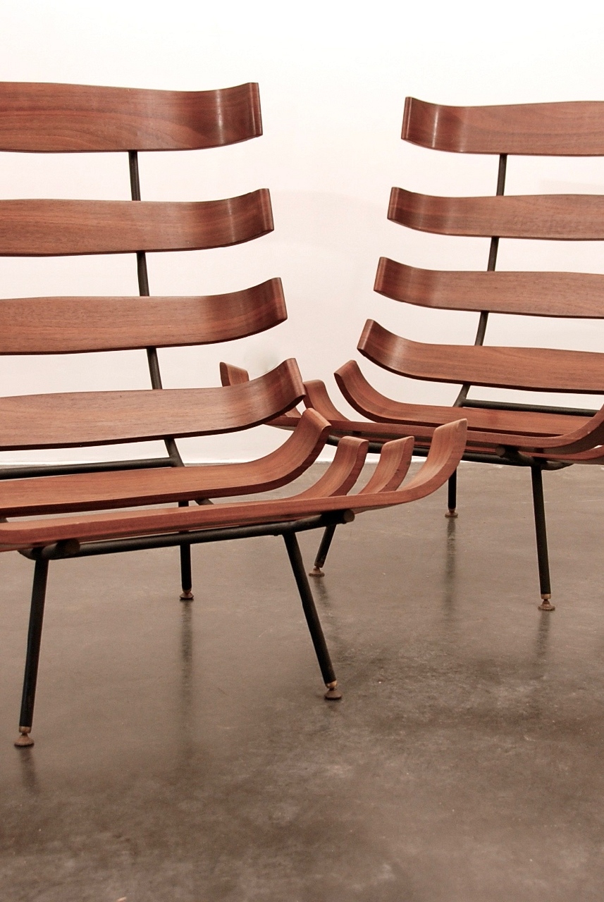 Martin Eisler pair of seats