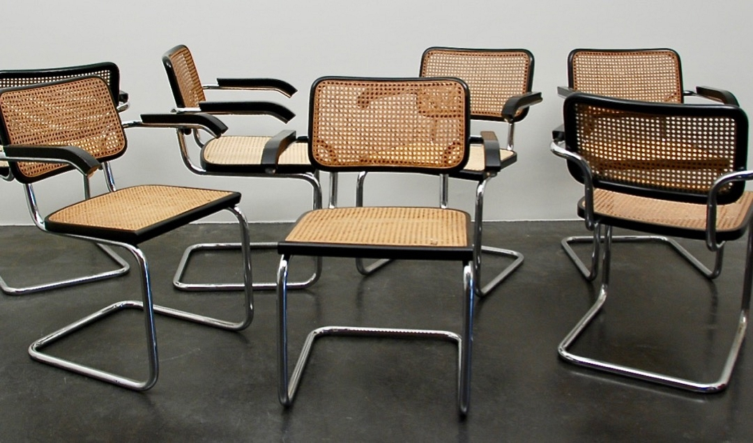 """Cesca""  set of 10 chairs"