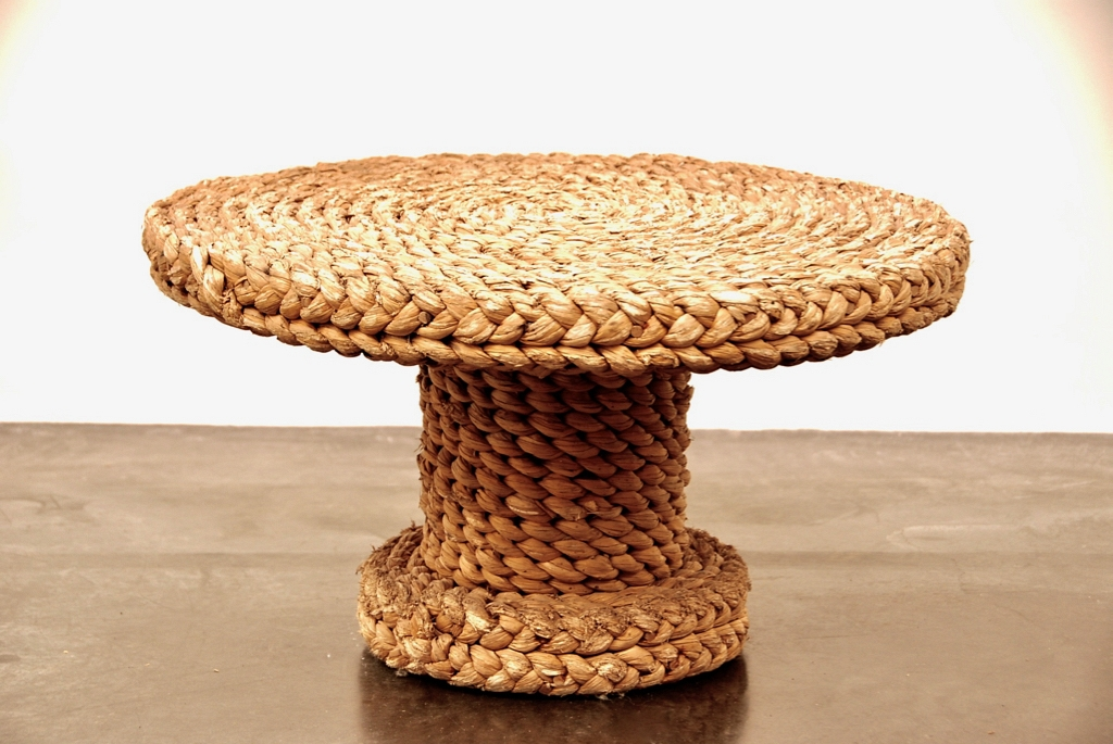 rotan side table