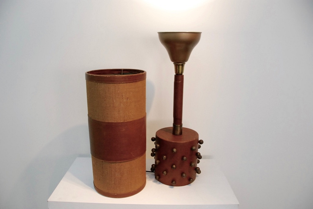 table lamp leather