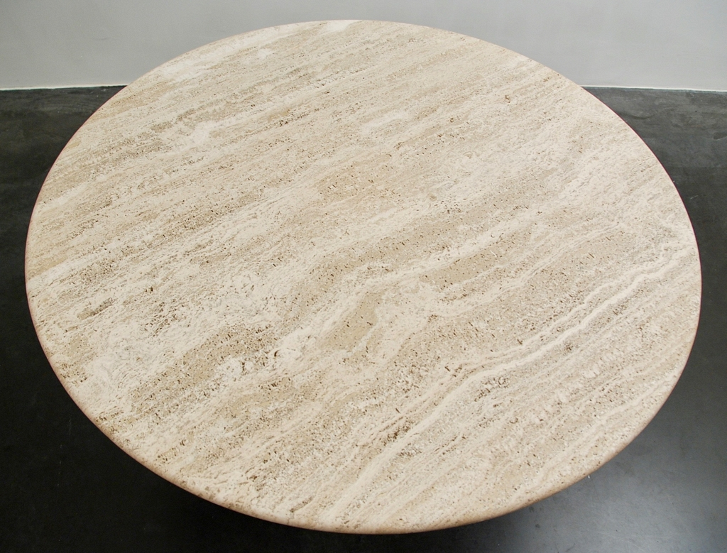 Round table Travertine