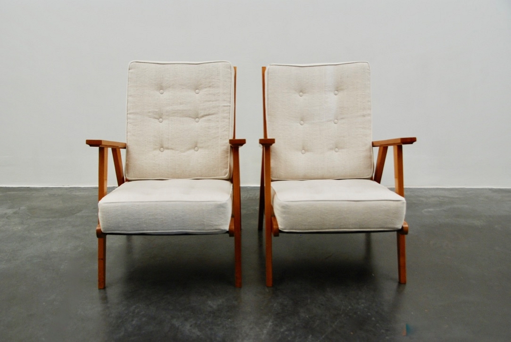 Vintage pair of Armchairs