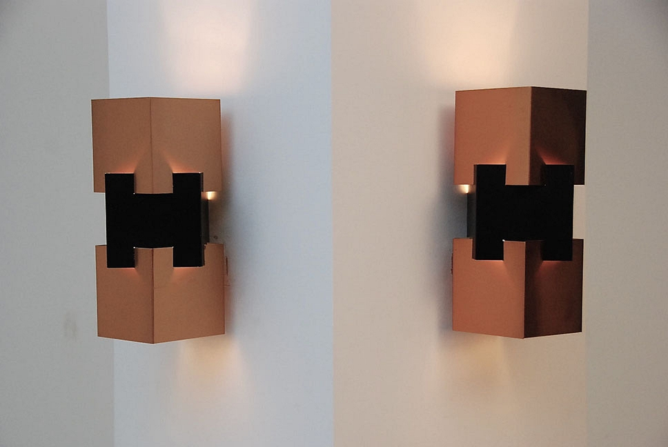 HANS AGNE JAKOBSEN PAIR OF SCONCES