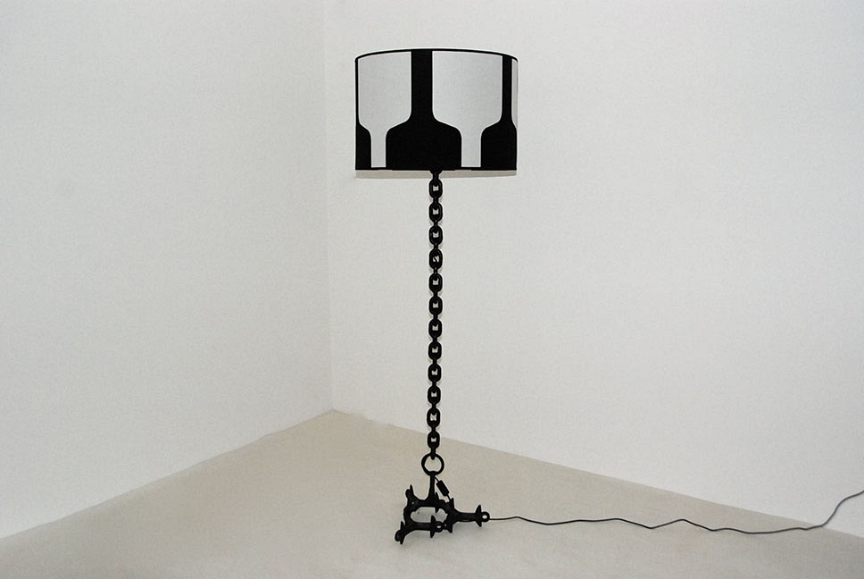 FLOOR LAMP METAL